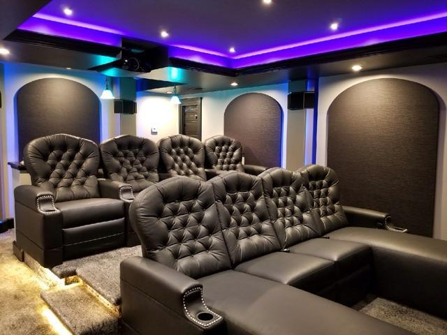 Custom Home Theater Design Installation In Frankfort Il Kole