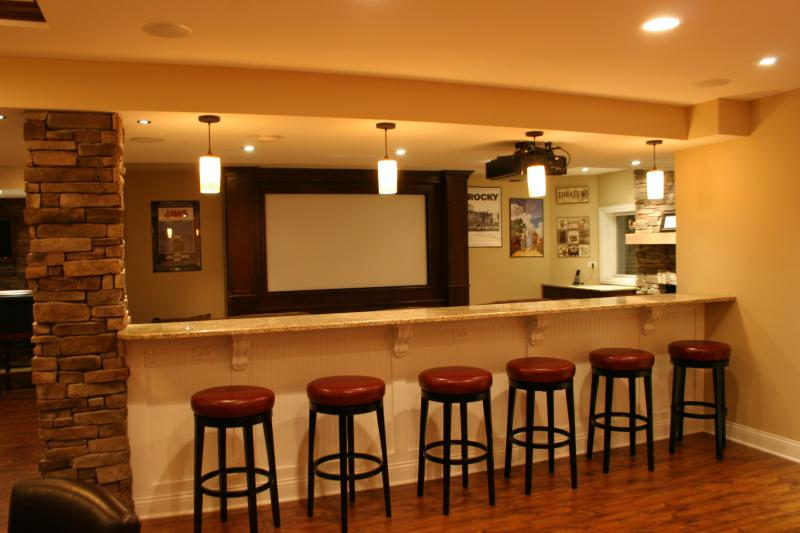 home theater in basement. home theater basement in