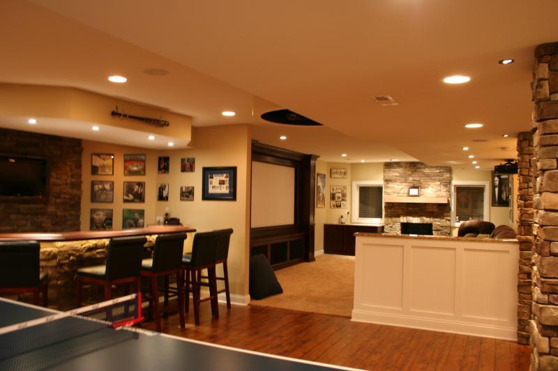 Basement Design In Frankfort Chicago Amp Tinley Park Kole
