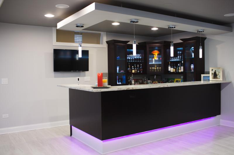 Home Bar Amp Fitness Room Galleries In Frankfort Amp Chicagoland Kole Digital