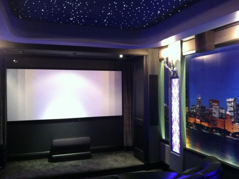 Custom Home Theater Design U0026 Installation In Frankfort, IL