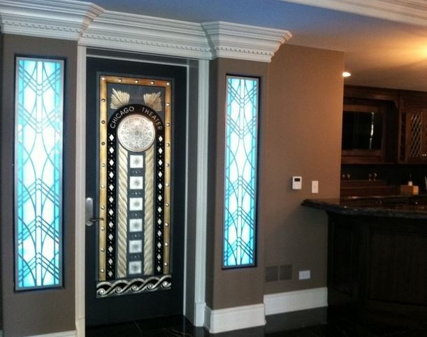 Delicieux Custom Home Theater Door