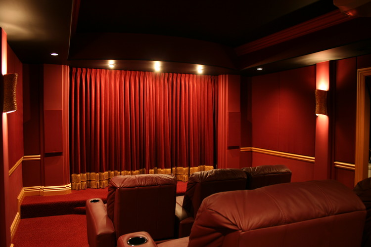 custom home theater chicagoland chicagoland home theater design - Home Theatre Design