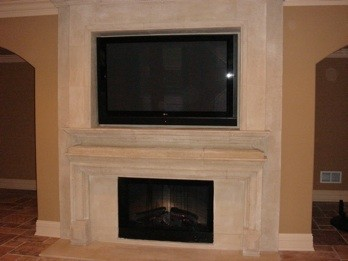TV Over Fireplace | Kole Digital