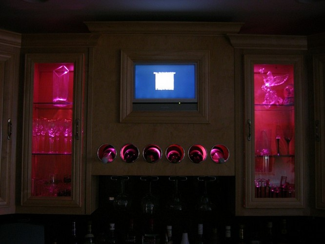 Lighting Design In Home Bar Niches