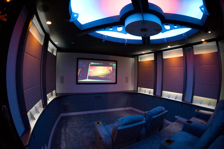 Amazing Custom Home Theater Design