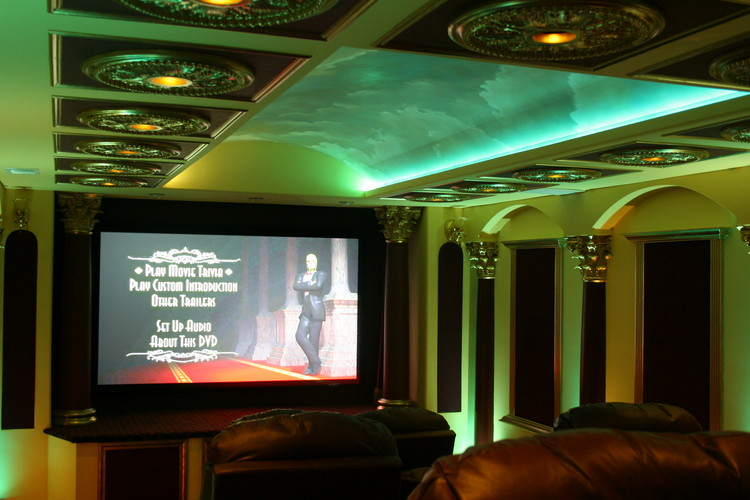 Led Ceiling Lights Home Theatre : Architectural lighting gallery kole digital