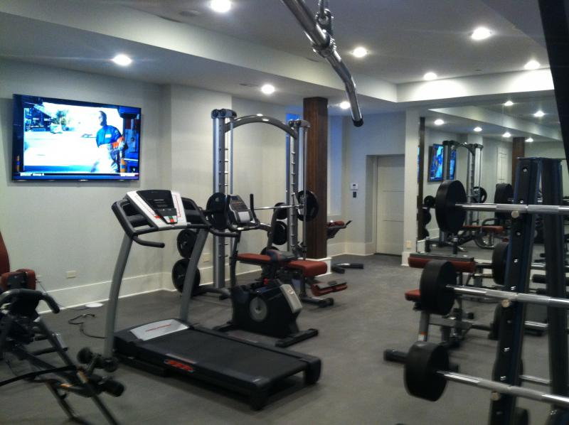 Home bar fitness room galleries in frankfort