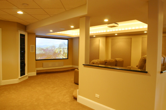 Open Concept Home Theaters Kole Digital Gorgeous Design Home Theater Concept
